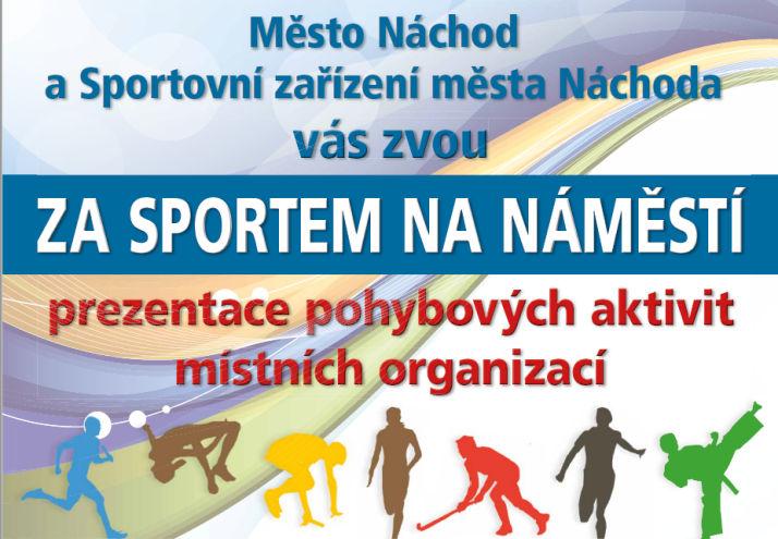 Za sportem na náměstí – přijď si vybrat, který sport je pro Tebe ten pravý!