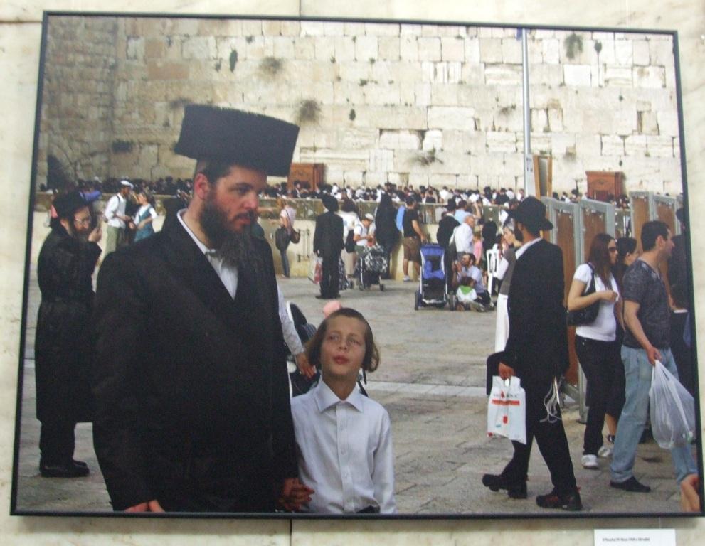 Jeruzalém ve fotografiích – ve foyer městské knihovny