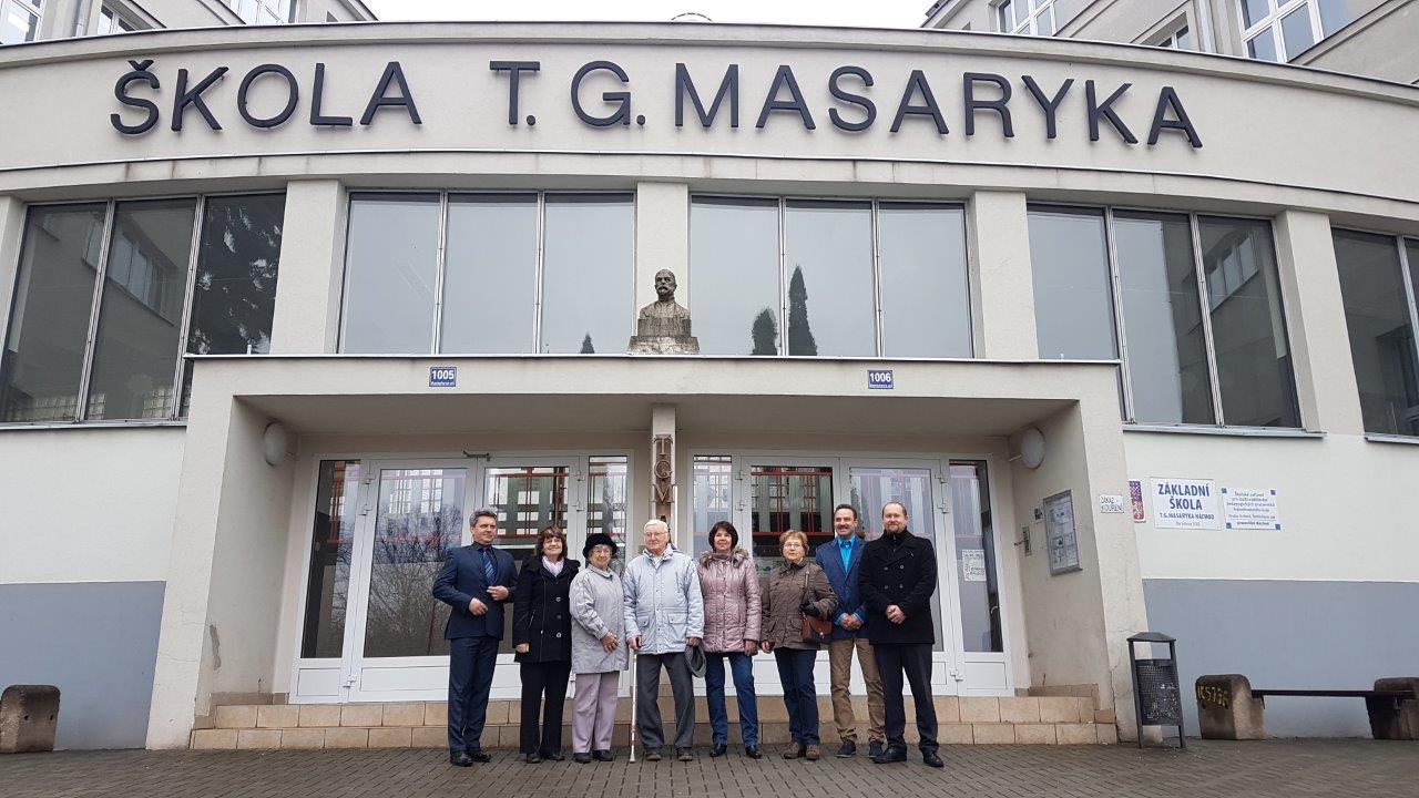 Uctění památky T.G.Masaryka