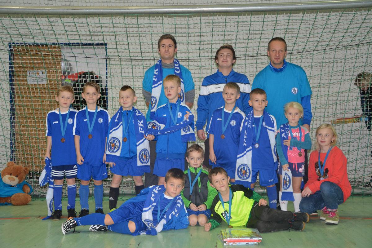 Ukončení halové sezóny mladých fotbalistů FKNáchod
