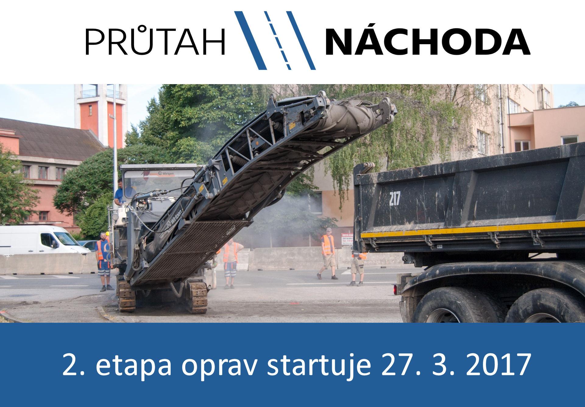 Náchodsko - Dopravní situace bude znovu složitá