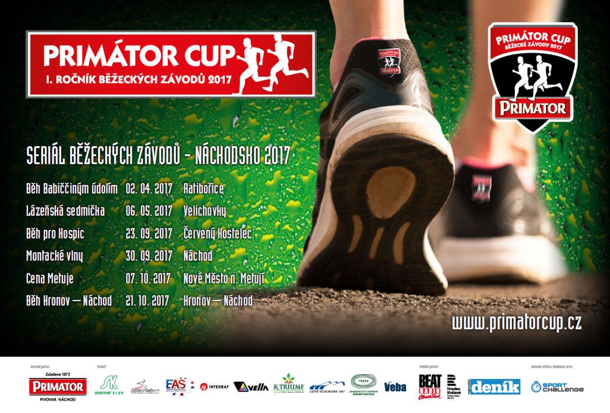V neděli odstartujeme seriál  běžeckých závodů Primátor CUP
