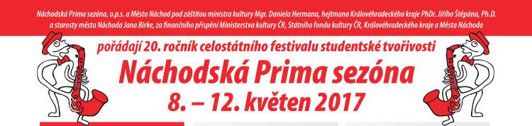 20. ročník celostátního festivalu studentské tvořivosti Náchodská Prima sezóna