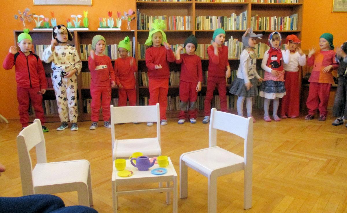 Vystoupení dětí z MŠ Alšova v Domově pro seniory Marie