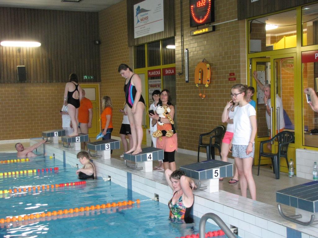 Modrá stuha města Náchoda – plavecké závody pro zdravotně postiženou mládež