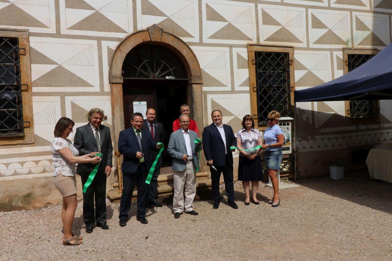 Městské informační centrum v Náchodě otevřelo novou pobočku na náchodském zámku