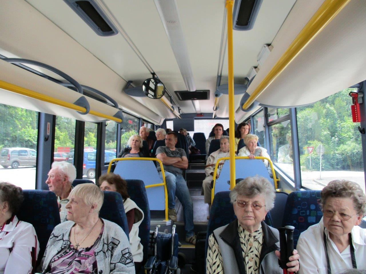 Výlet klientů Domova pro seniory Marie do Ratibořic