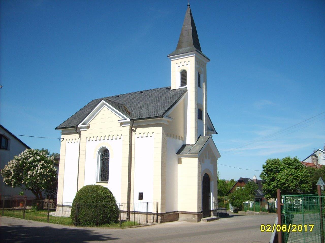Kaple na Pavlišově v novém