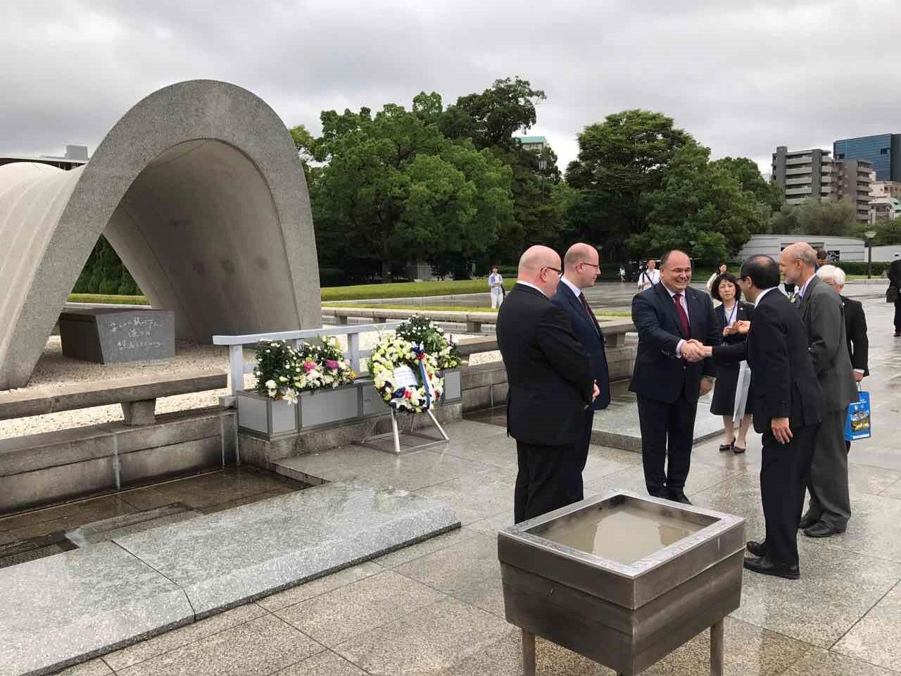 Náchod a Hirošimu pojí historie i současnost