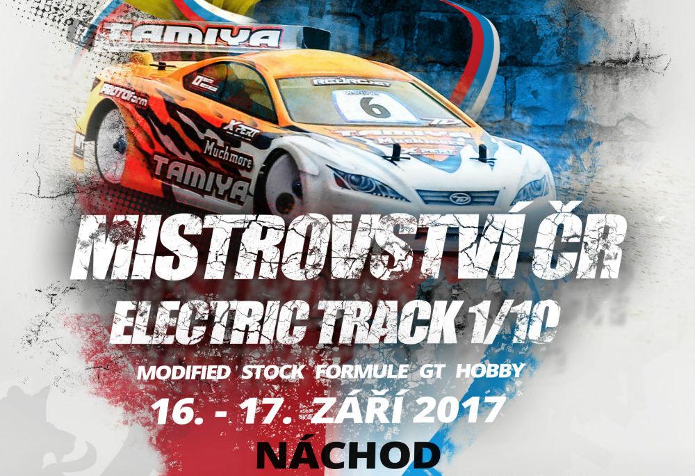 Mistrovství ČR - electric track