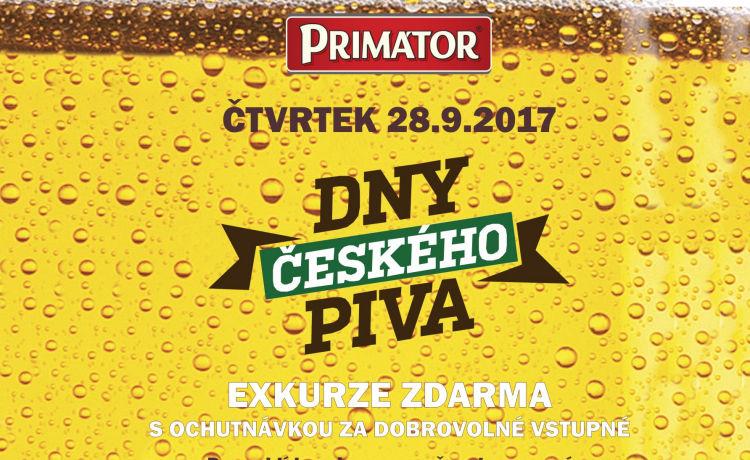 Den a noc otevřeného pivovaru PRIMÁTOR proběhne na sv. Václava
