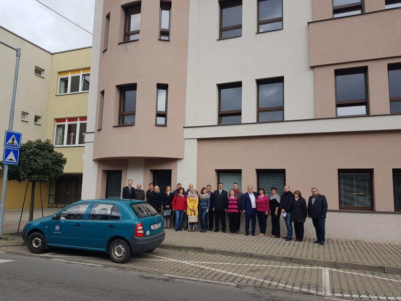 Mateřská škola v Komenského ulici má dokončeno zateplení celé budovy