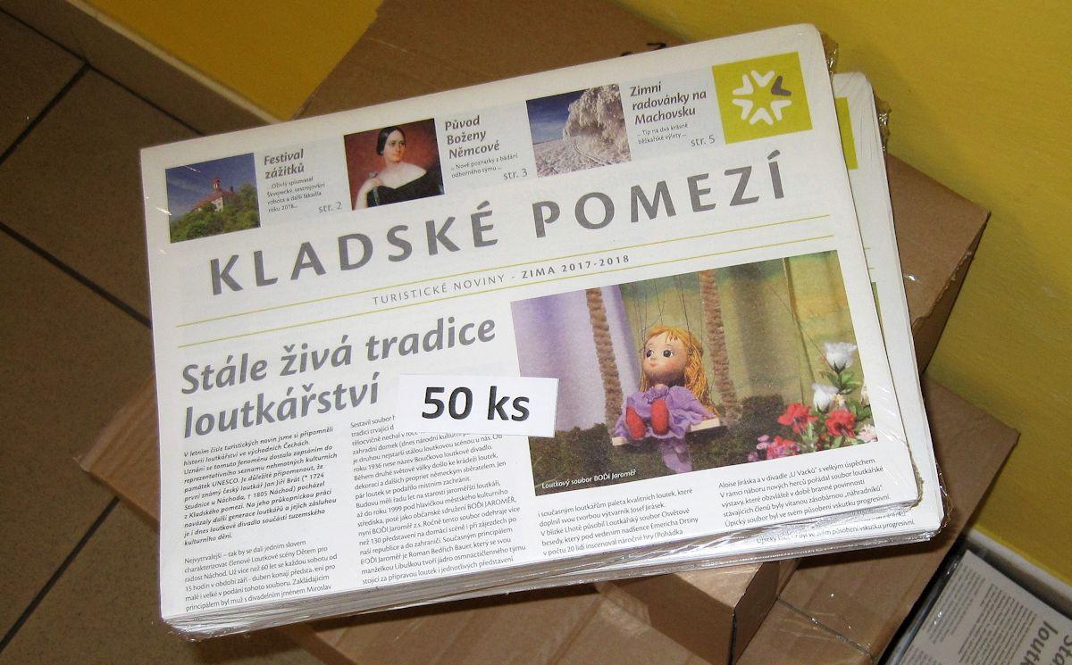 Na pultech informačních center přistály nové zimní noviny Kladského pomezí