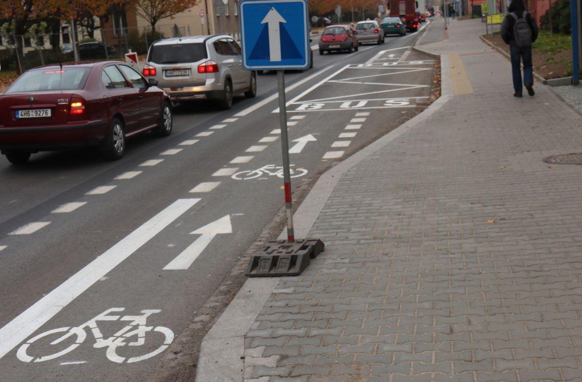 Informace k novým trasám pro cyklisty na průtahu Náchodem