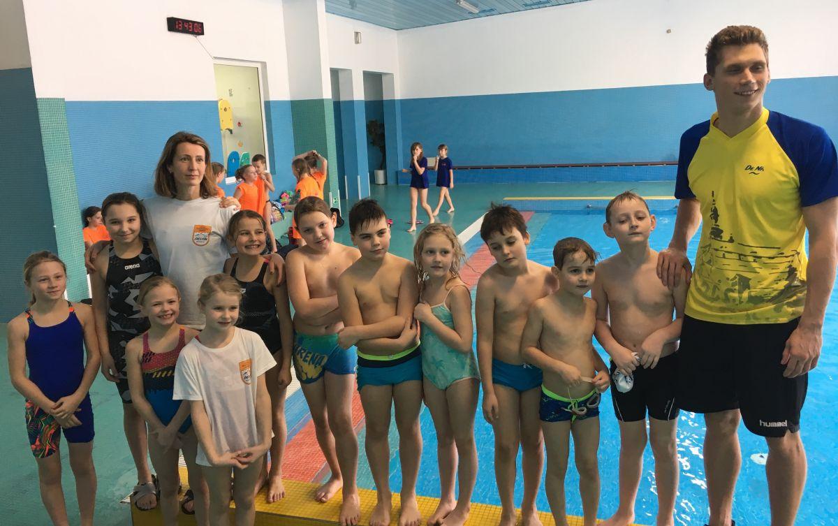 Úspěchy mladých plavců Delfínu Náchod v Třebové