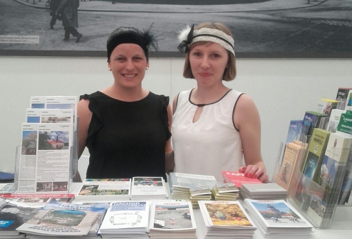 Město Náchod se prezentovalo na veletrhu HOLIDAY WORLD
