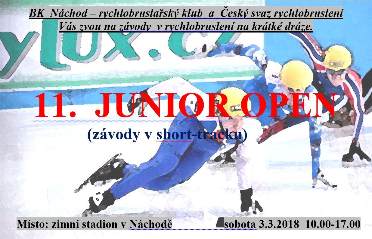 11. ročník mezinárodních závodů v rychlobruslení na krátké dráze (short- track)
