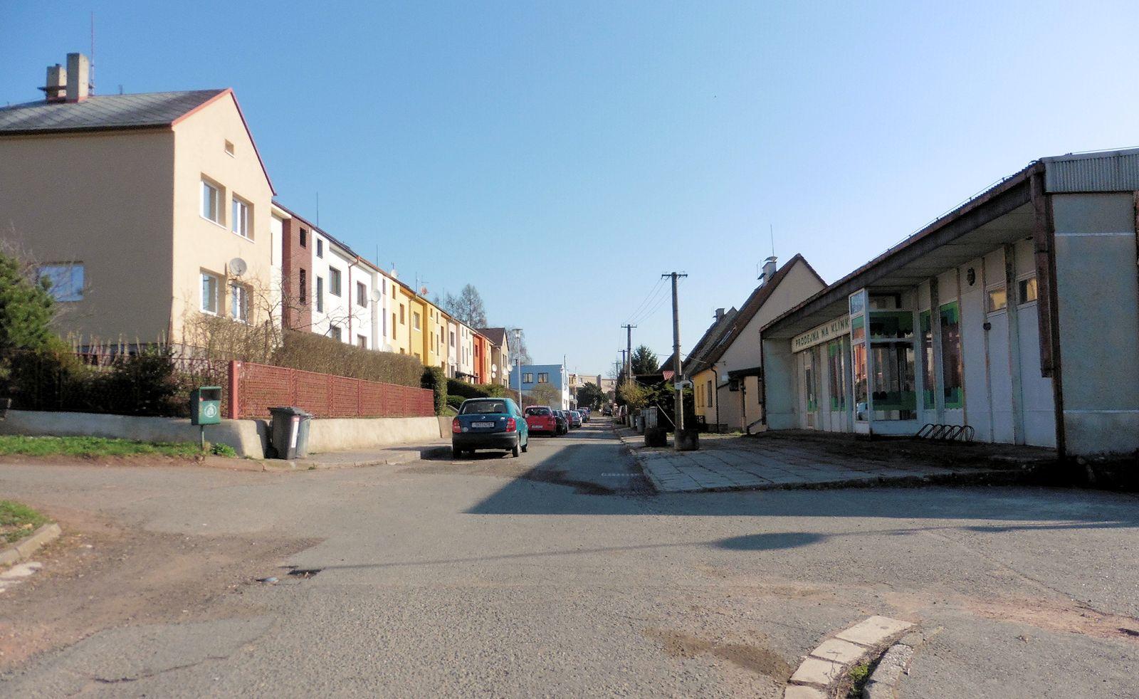 Rekonstrukce ulice Dobrovského vNáchodě