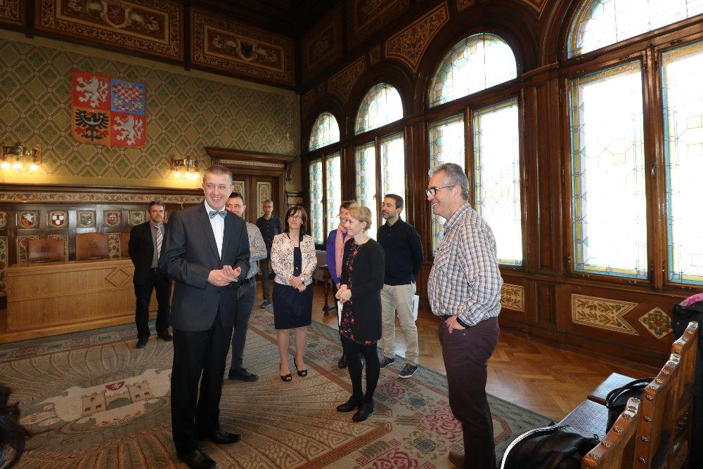 Přijetí španělských a litevských  pedagogů – účastníků projektu programu ERASMUS +