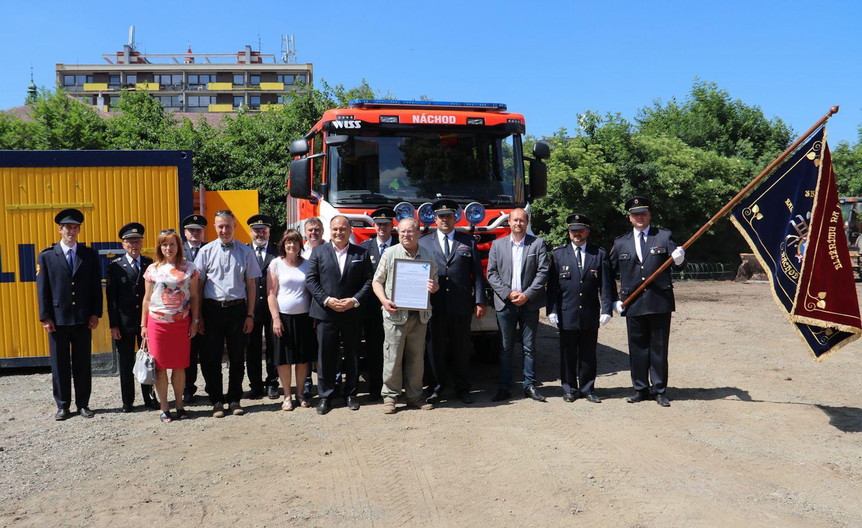 Stavba hasičské zbrojnice zahájena