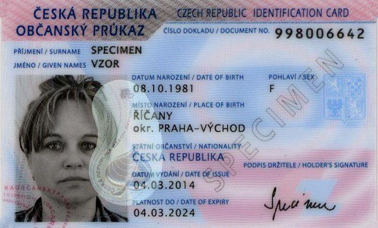 Nová právní úprava na úsecích cestovních dokladů aobčanských průkazů
