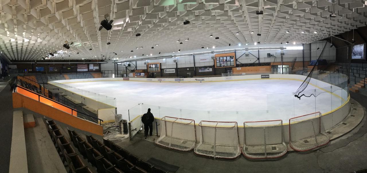 Ledová plocha na zimním stadionu opět v provozu!