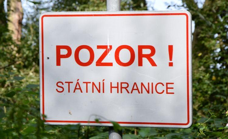 Informace MV o poškozování hraničních znaků