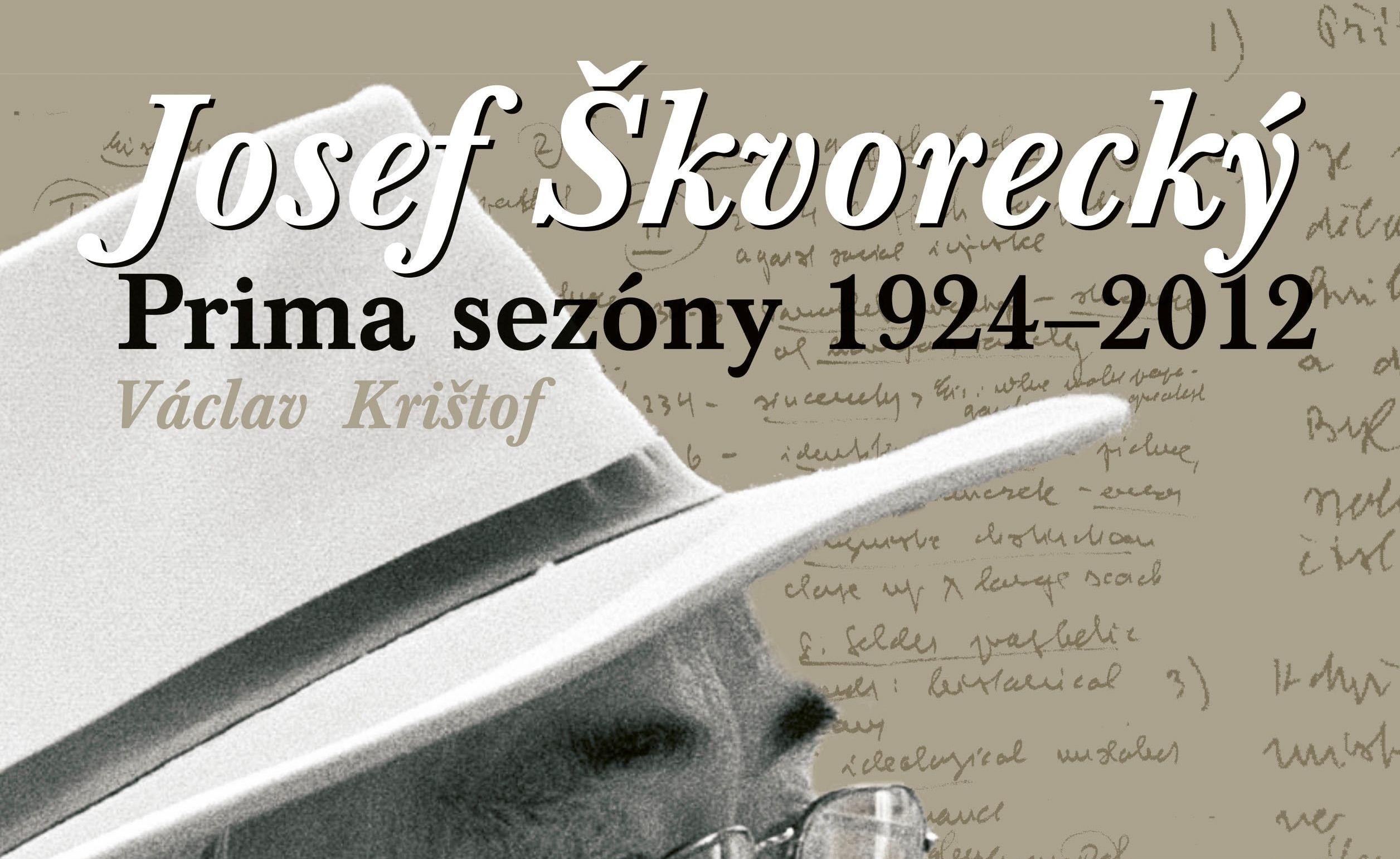 Ve Škvorecký Café pokřtí novou knihu o Josefu Škvoreckém