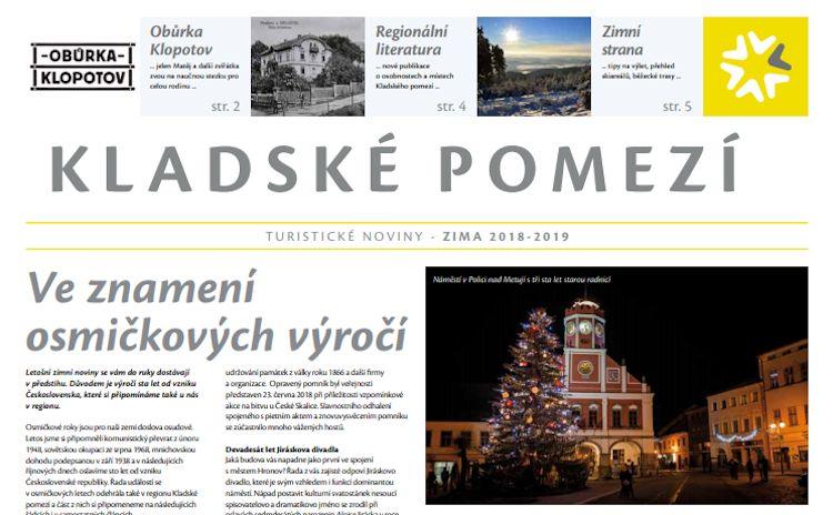 Vychází zimní turistické noviny Kladského pomezí