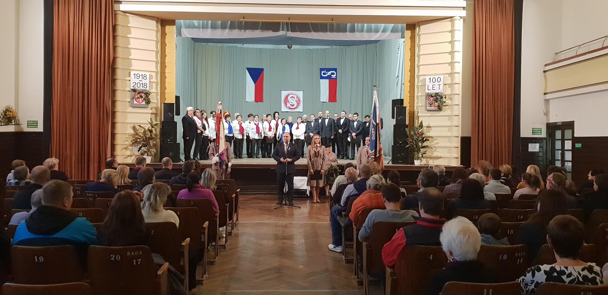 Oslavy výročí republiky v Náchodě