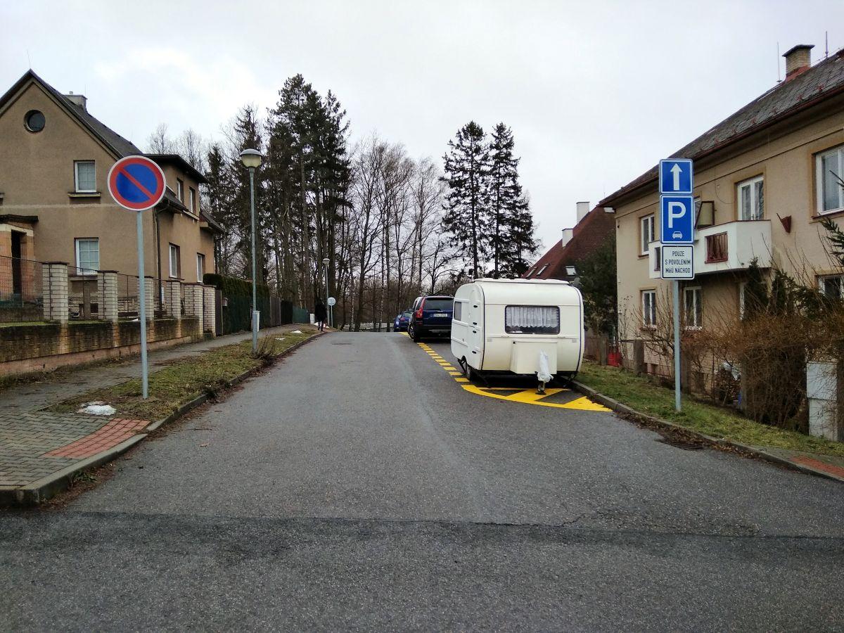Změna dopravního značení