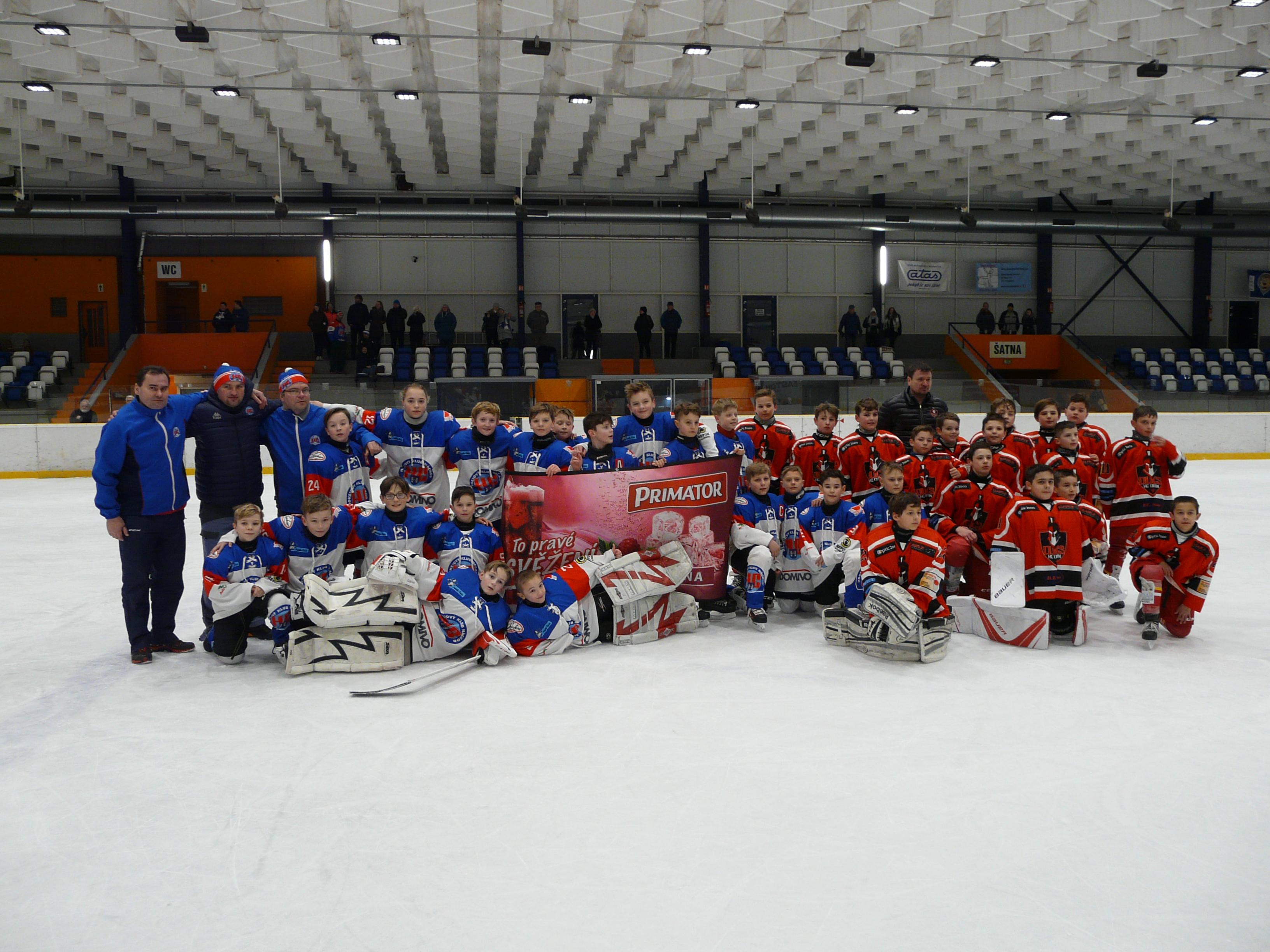 Mladší žáci si zahráli proti hokejistům Dijonu
