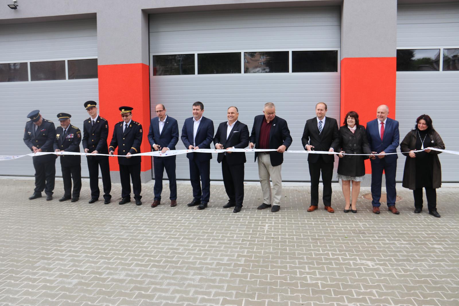 Stavba nové hasičské zbrojnice v Náchodě jedokončena