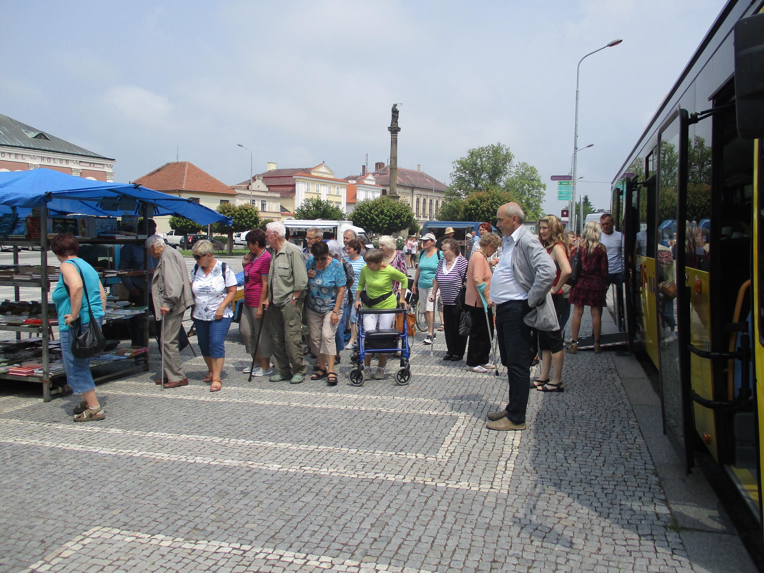 Výlet klientů Domova pro seniory Marie do Opočna