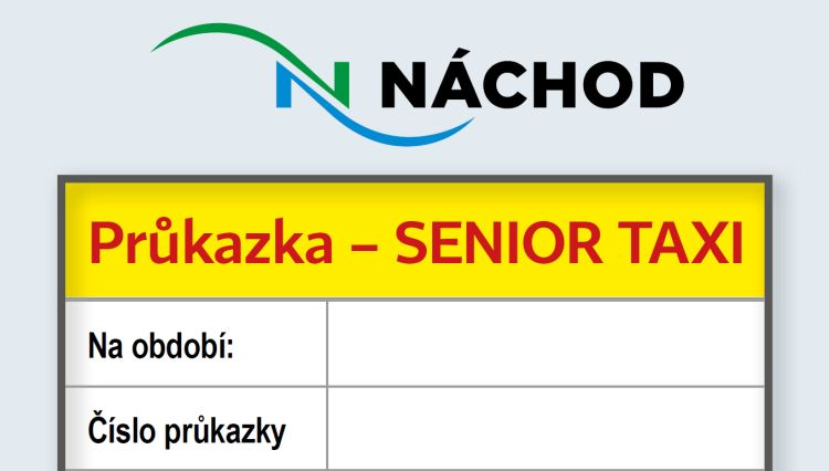 Informace k vydání průkazky pro využívání služby SENIOR TAXI