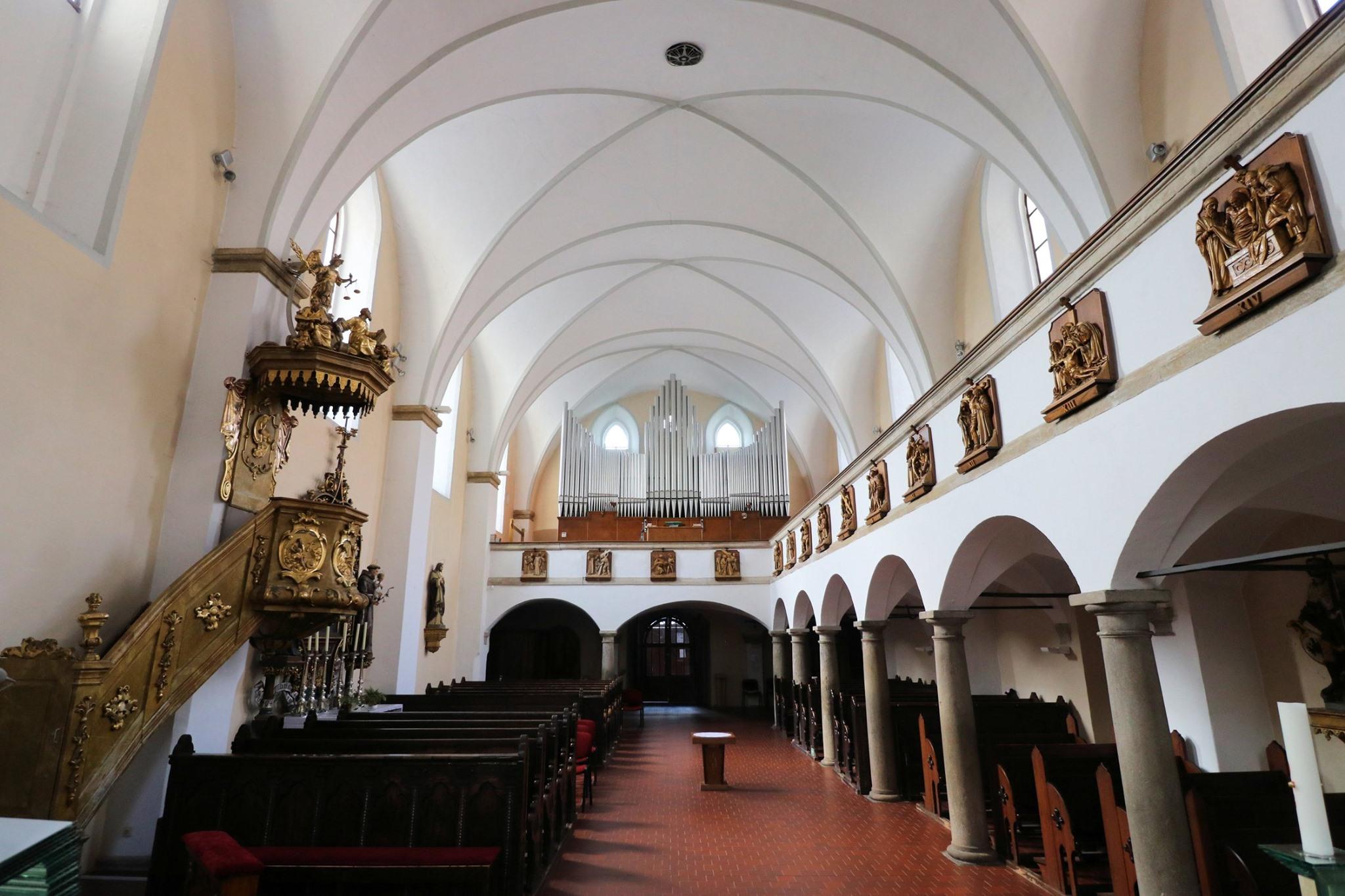 Prohlídky v kostele sv. Vavřince