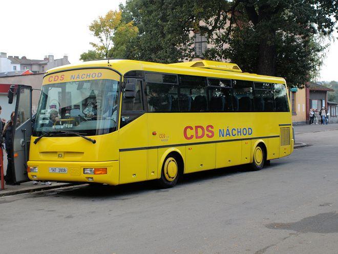 Posílení linek autobusové dopravy - Jiráskův Hronov