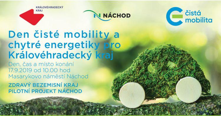 Den čisté mobility a chytré energetiky vNáchodě – úterý 17. 9.