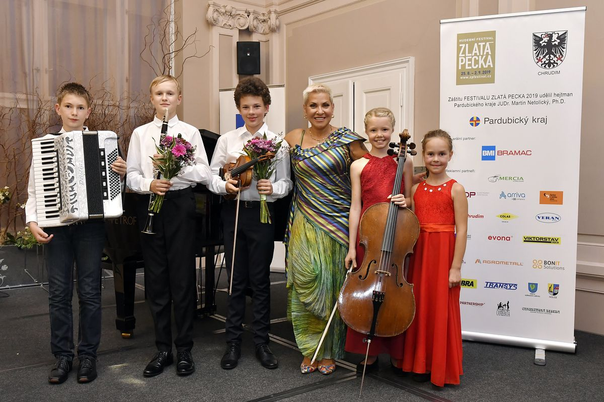 Houslista Vilém Jirsa na Festivale ZLATÁ PECKA 2019