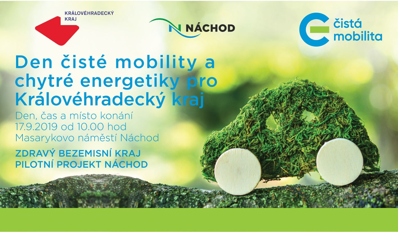 Den čisté mobility a chytré energetiky pro Královéhradecký kraj již zítra – 17. 9. 2019
