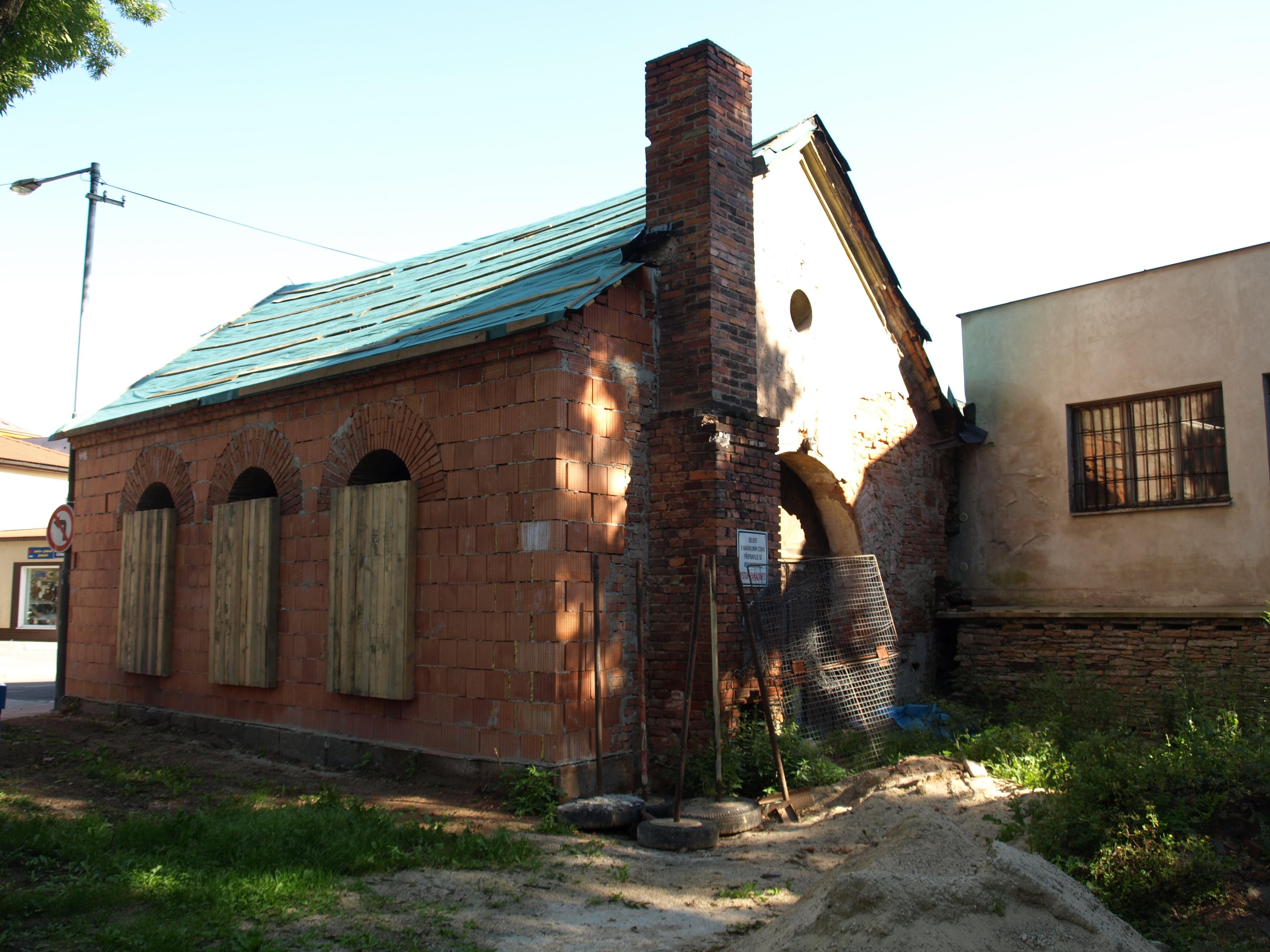 Židovský obřadní dům na Hamrech