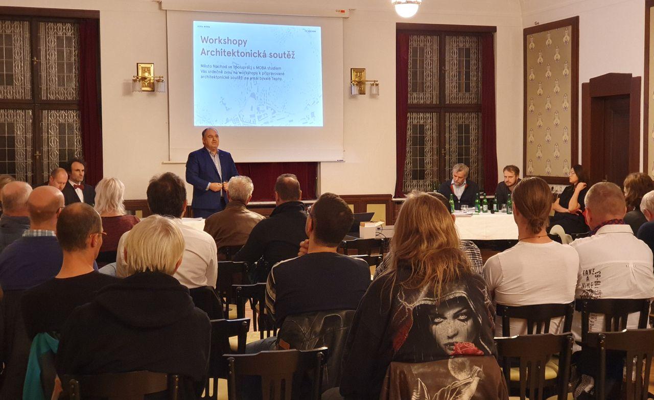 Diskuze o budoucnosti areálu Tepny
