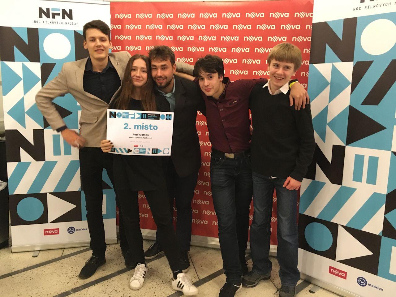 Noc filmových nadějí TV Nova 2019