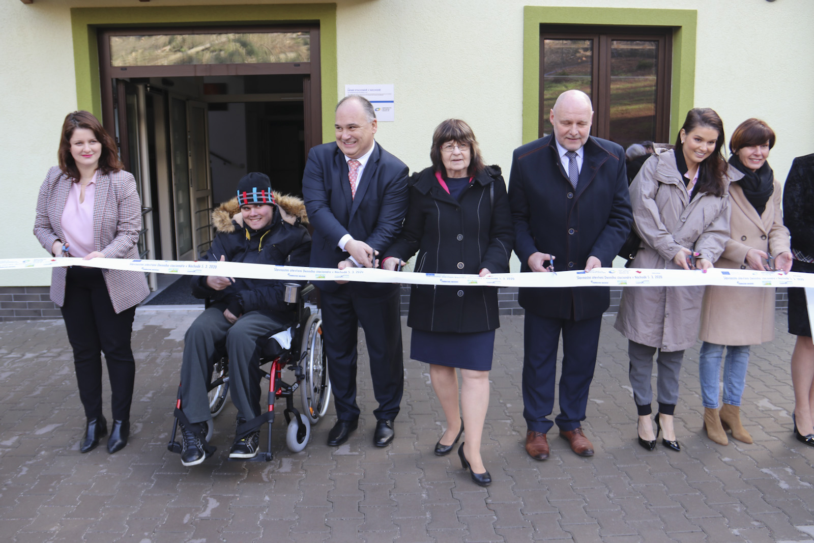 Ministryně Maláčová otevřela sklienty denní stacionář vNáchodě