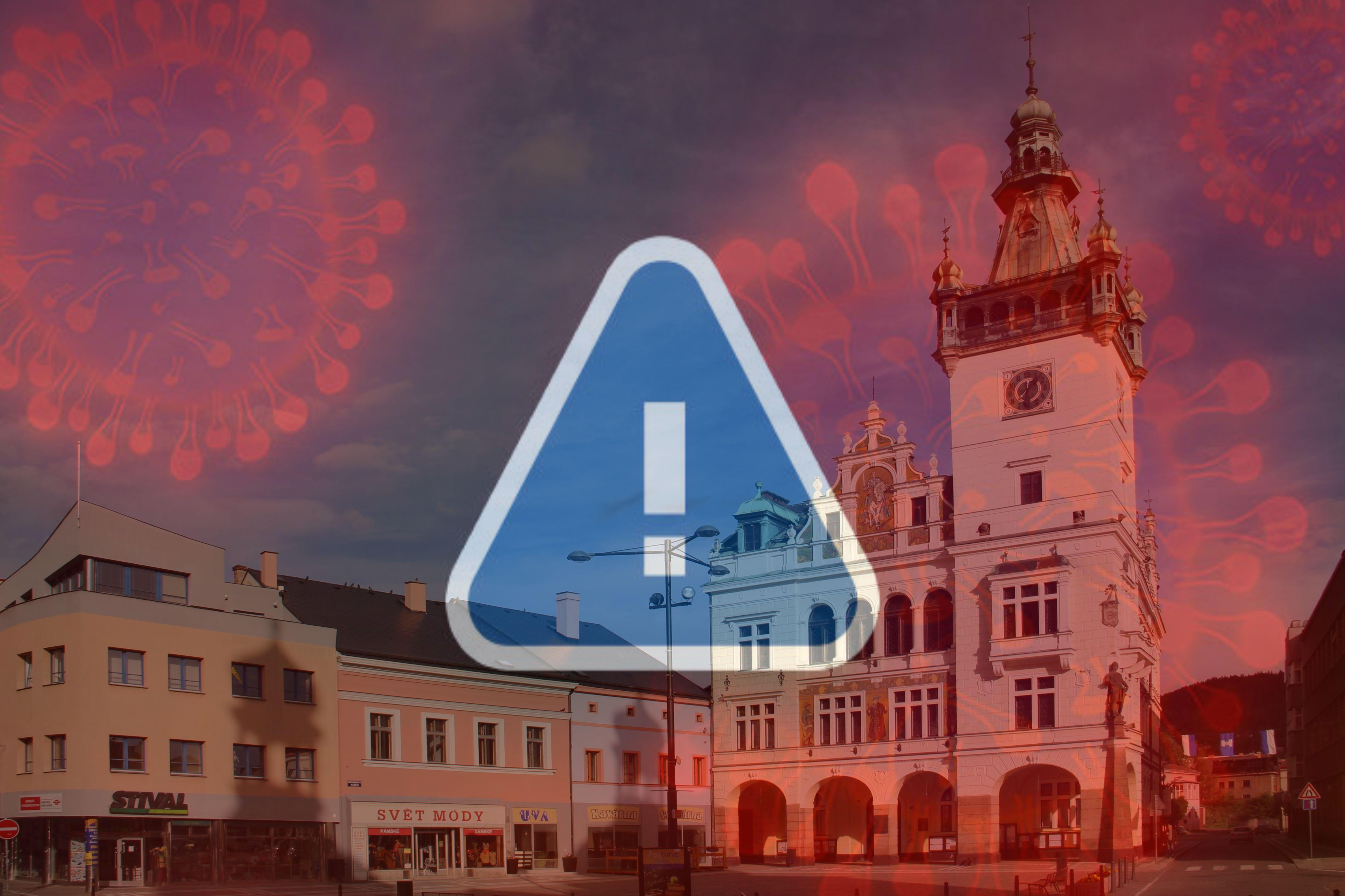Omezení provozu Městského úřadu v Náchodě pro veřejnost