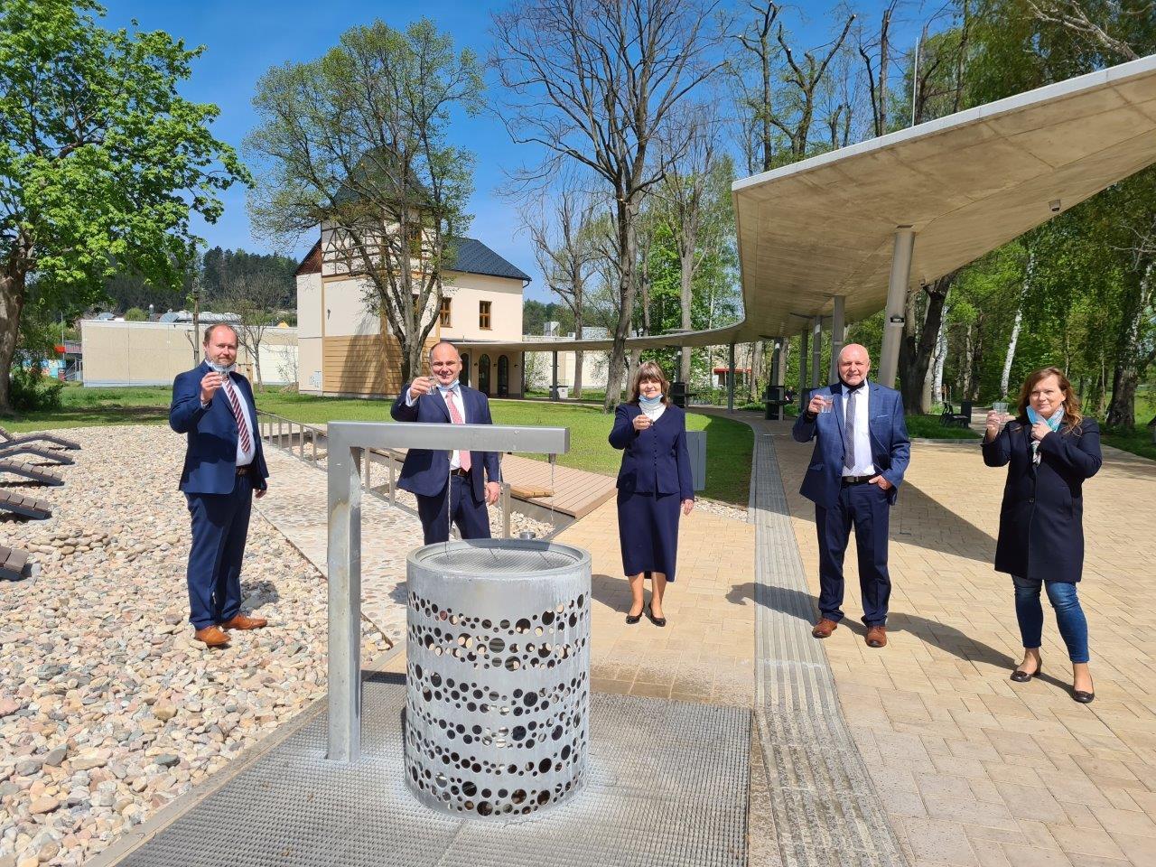 Pítko v Malých lázních vNáchodě-Bělovsi je ode dneška opět vprovozu