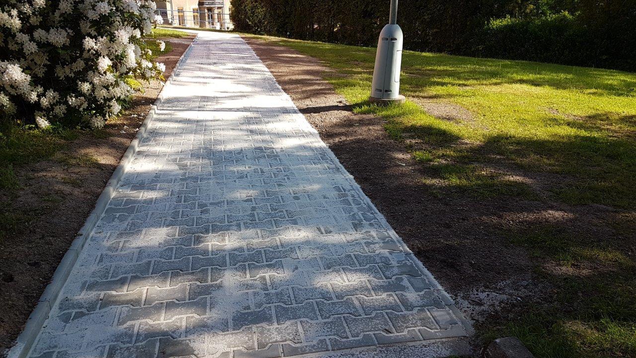 Opravené chodníky