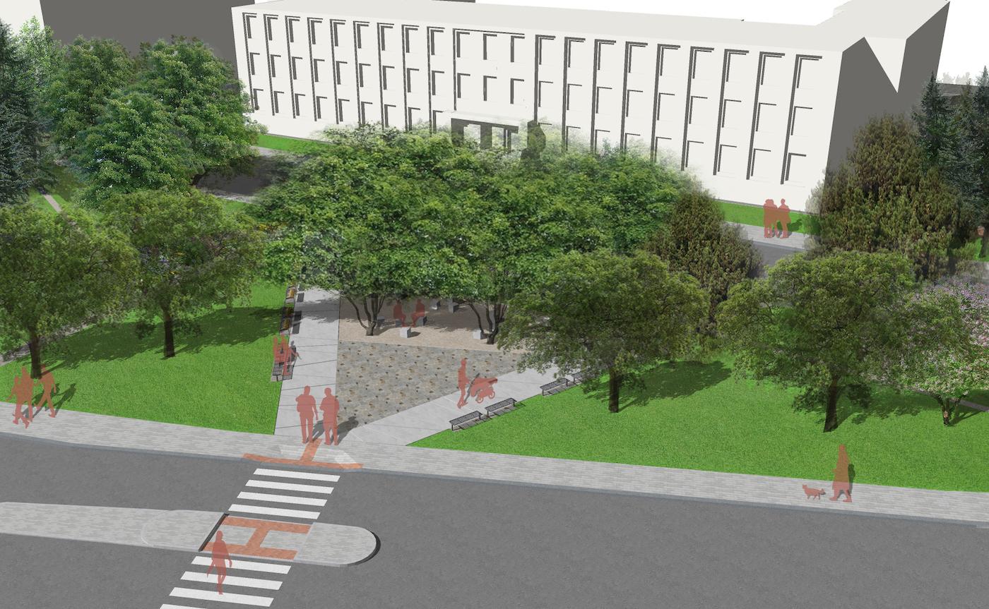 Park vcentru Náchoda projde revitalizací