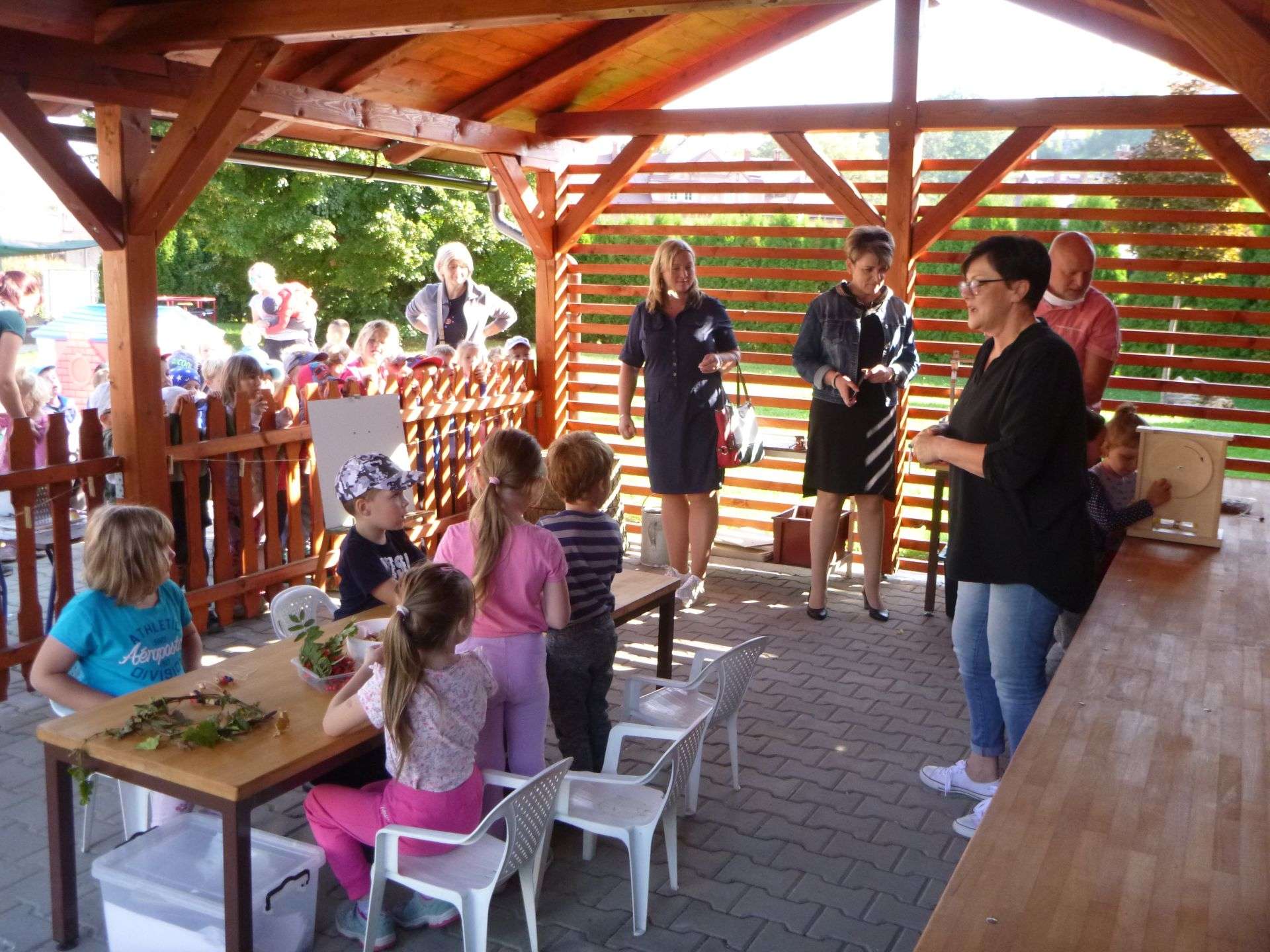 Otevření venkovní třídy v MŠ Myslbekova