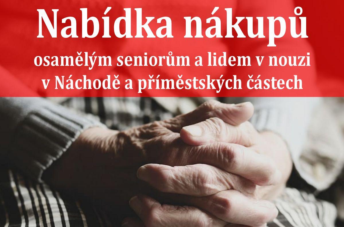 Nákupy seniorů – znovu od 15. 10. 2020
